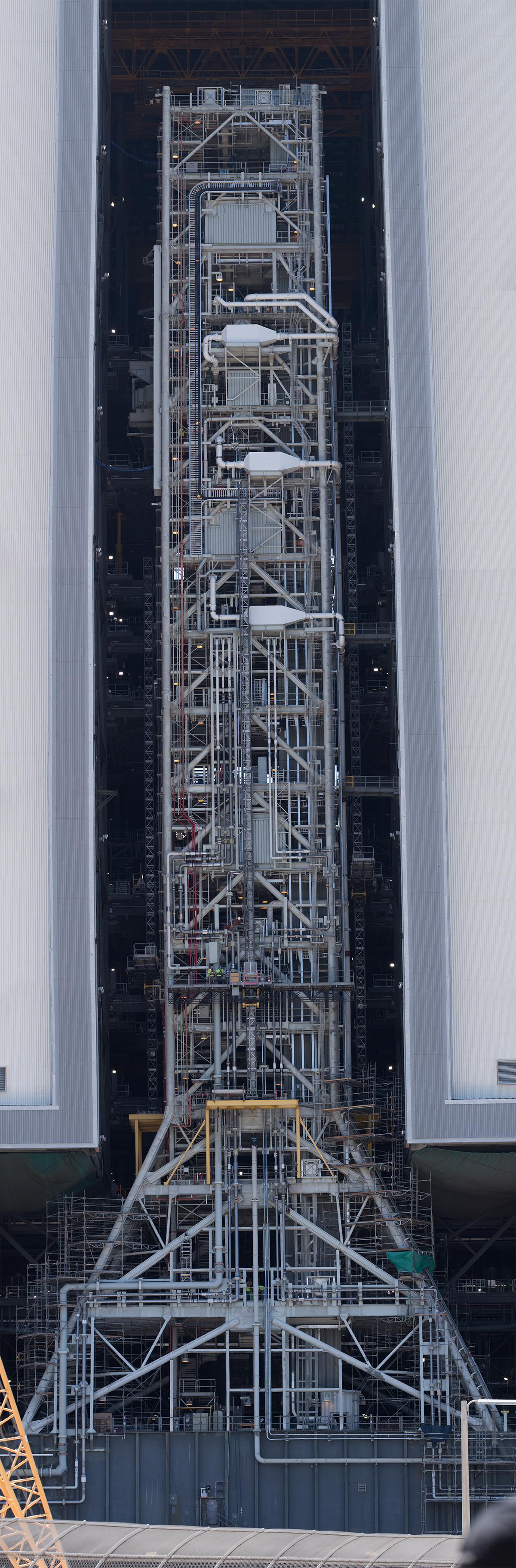 An incredibly detailed view of the Mobile Launcher