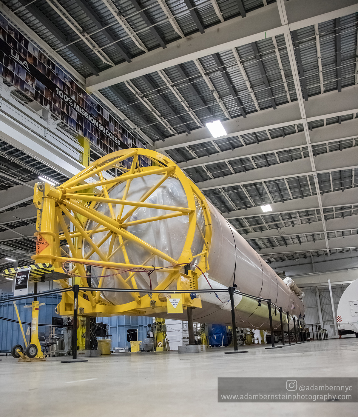 The United Launch Alliance Atlas V booster that will be used for Boeing's Crew Flight Test (CFT)