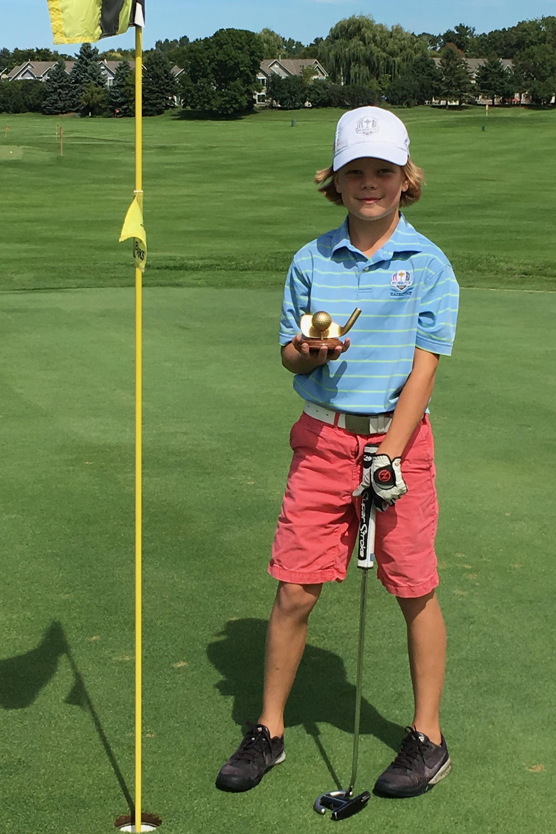 Ben Jackson - HA 2016 Champion Golfer of the Year