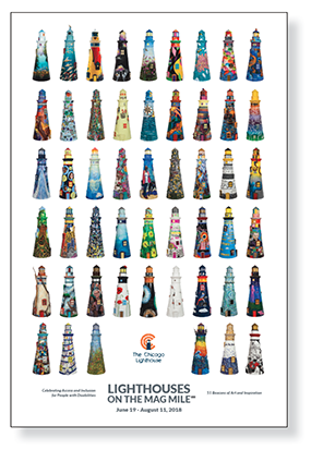 Thumbnail image of the Lighthouse on The Mag Mile poster.