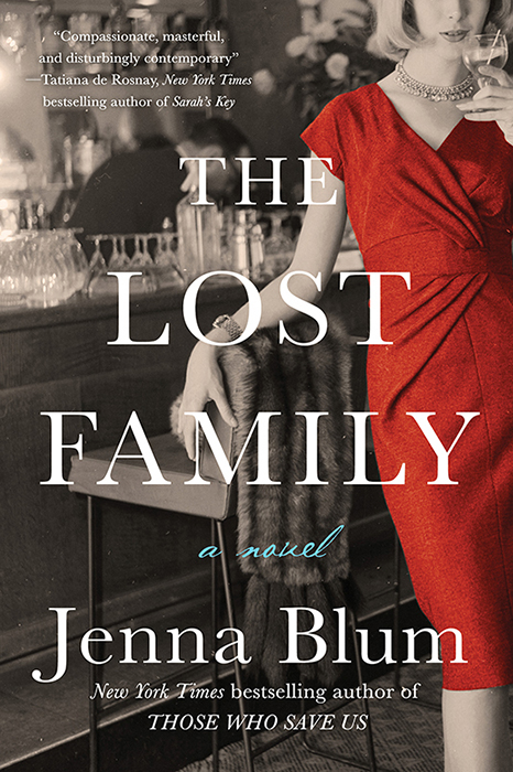 The Lost Family launches June 5th, 2018! - FEBRUARY 2018: Dear Readers, MARK YOUR CALENDARS! The Lost Family launches JUNE 5th, 2018. Please join us Jenna in Boston at Brookline Booksmith, 7 PM, 6/5/18, for her premier introduction of the novel. (Psst--can't wait? Pre-order here!)