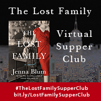 Introducing The Lost Family Supper Club - We're thrilled--and licking our chops!--to announce that Book Club Cookbook is hosting #TheLostFamilySupperClub on June 3rd! Bloggers will recreate *actual* dishes inspired by The Lost Family's menu and post the results online. To see what deliciousness they come up with, please follow #TheLostFamilySupperClub on Facebook, Twitter, and Instagram!
