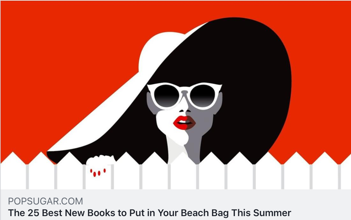 POPSUGAR selects the The Lost Family for its Best Summer Reads List! - PopSugar selects The Lost Family for its list of best summer reads! For the full list, click here and carry a big beach bag.