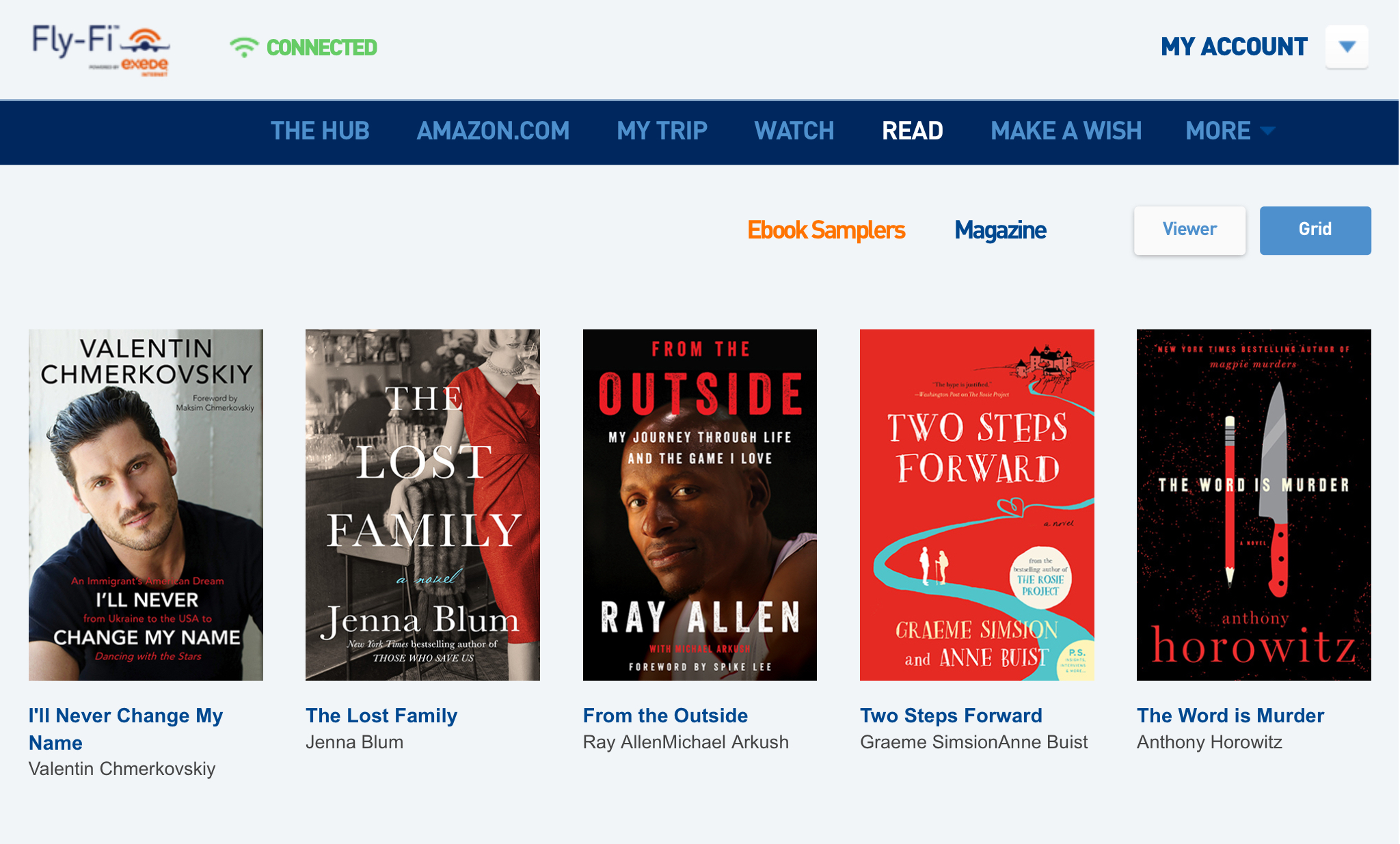 The Lost Family Free Download on JetBlue - If you're flying JetBlue this month, you can access a free download of The Lost Family via their web browser, FlyFi (open it, then click Books). Very friendly skies indeed!