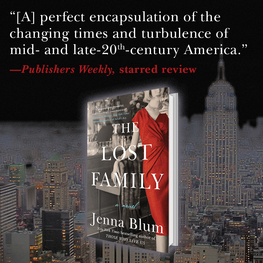 ⭐️ Publishers Weekly Gives The Lost Family 4th Starred Review ⭐️⭐️⭐️⭐️ - We are so thrilled that the venerable Publishers Weekly has given The Lost Family a starred review—the novel's 4th starred trade review. To read the review, please click HERE.