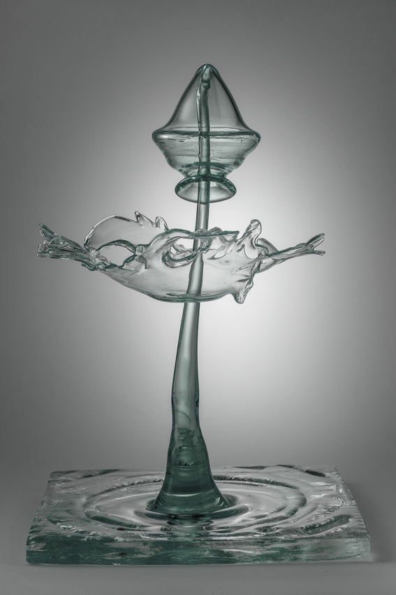 Hydromorph, Murano crystal.