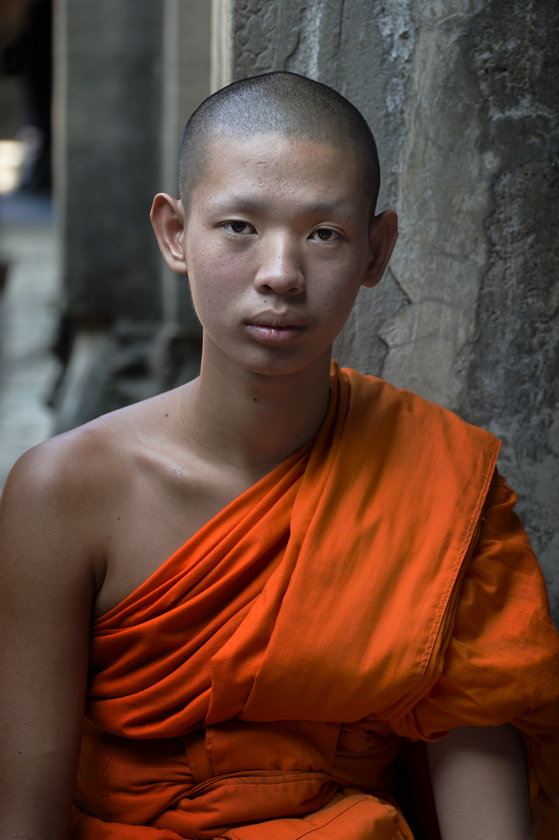 Cambodian Monk. SCParkerPhotography.jpg