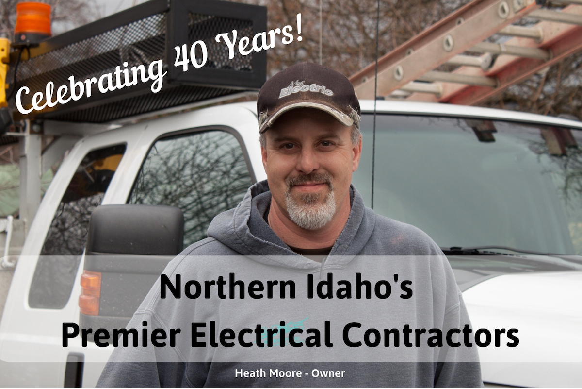 Northern Idaho's Premier Electrical Contractors.