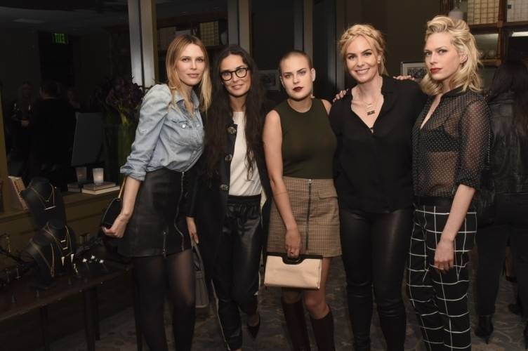 Sara Foster, Demi Moore, Tallulah Willis, Nikki Erwin and Erin Foster  Photo Credit: Vivien Killilea for Getty Images