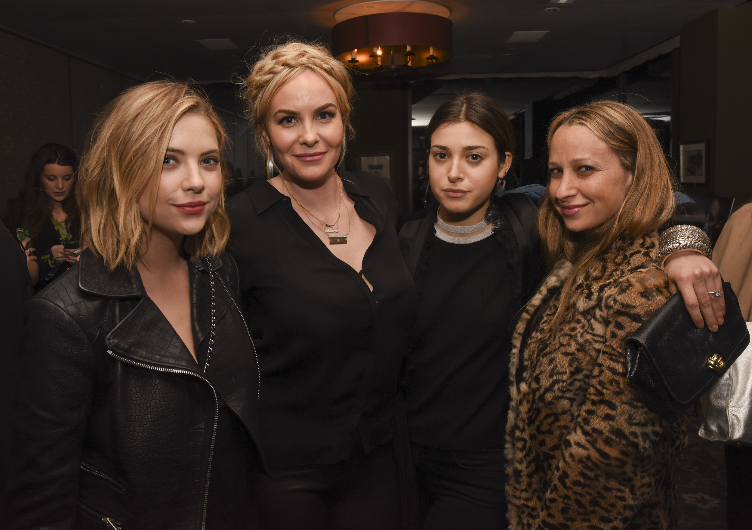 From left:  Ashley Benson, Nikki Erwin, Jamie Schneider and Jennifer Meyer