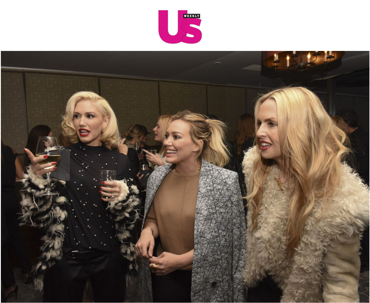Gwen Stefani, Hilary Duff, and Rachel Zoe brought the glitz and the glam to the laucn bash for Established Jewelryin West Hollywood March 5
