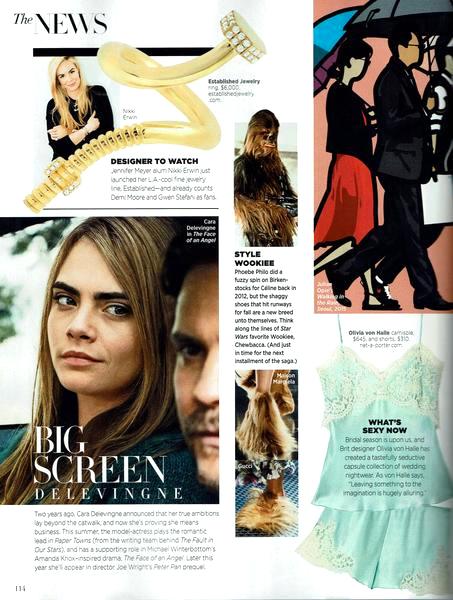 Established Jewelry Editorial Press, Harper's Bazaar