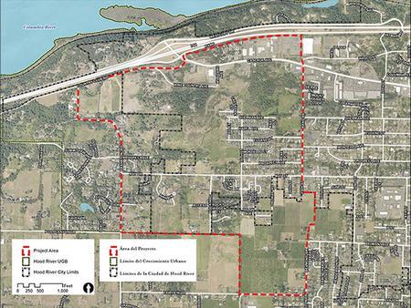 Westside Area Plan Map