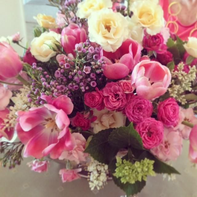 Jeri Orr's flower arrangement