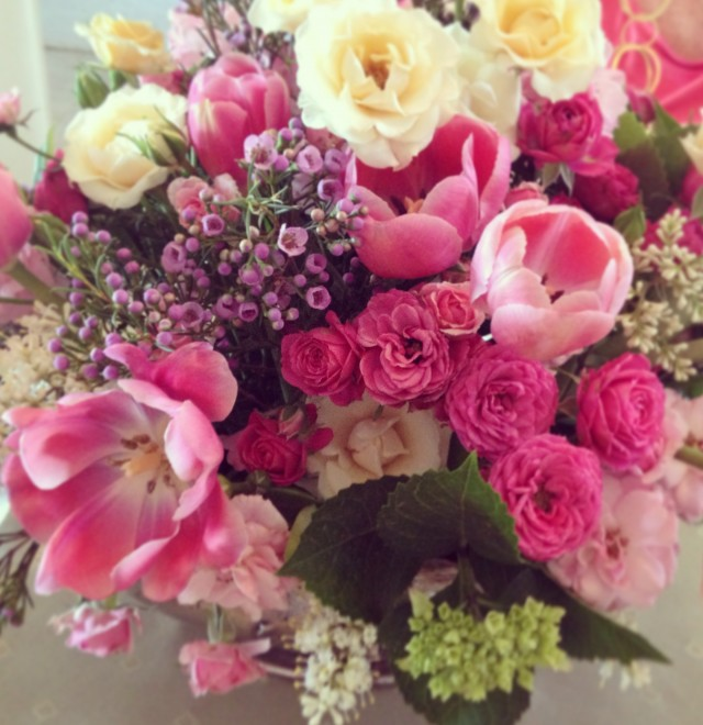 Floral bouquet by Mom