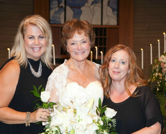 Heather Lindstrom, Jeri and Heidi at the Wedding