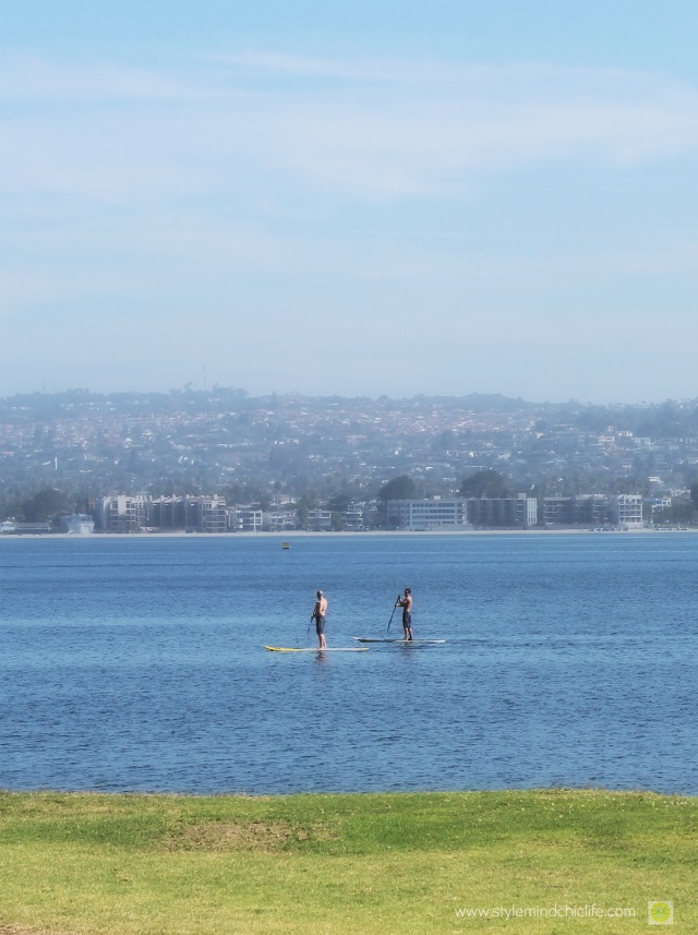 San Diego Getaway and SUP in Mission Bay on Stylemindchic Life