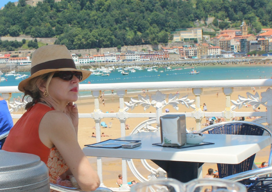 Woman in hat at cafe San Sebastian.jpg