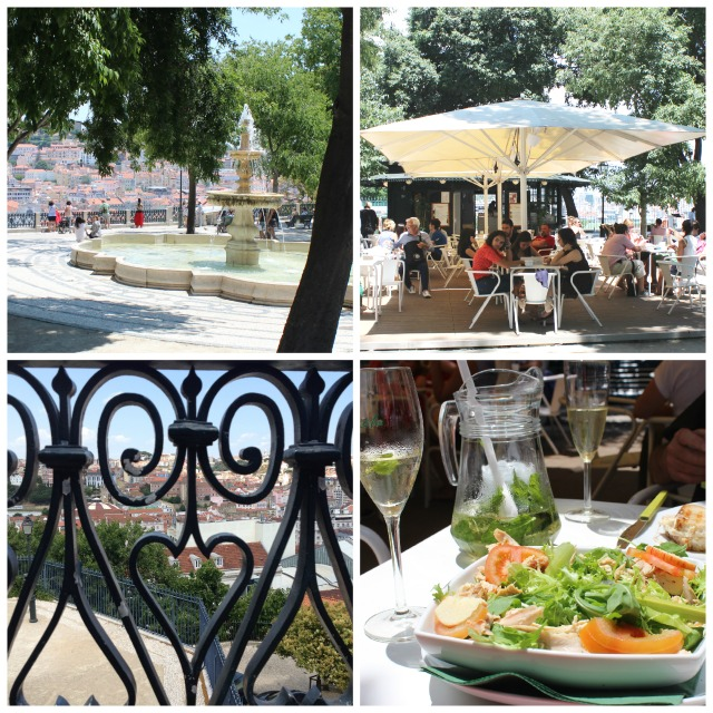 Lunch with a view Lisbon