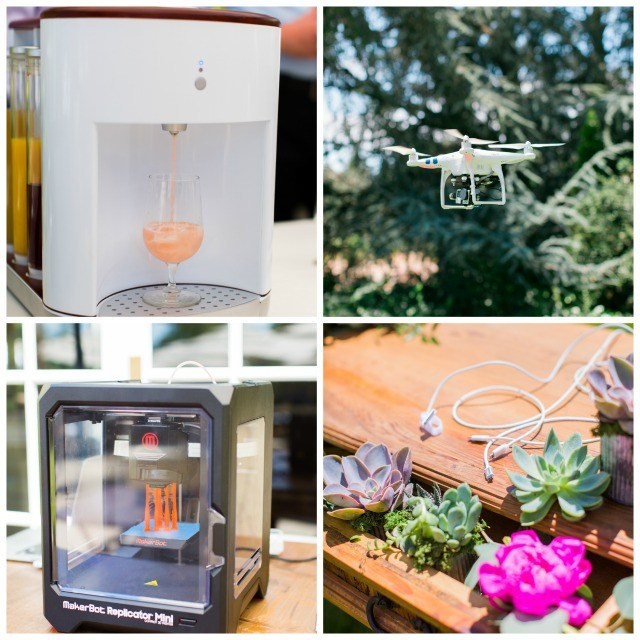 Wine Country Wedding and the high tech details