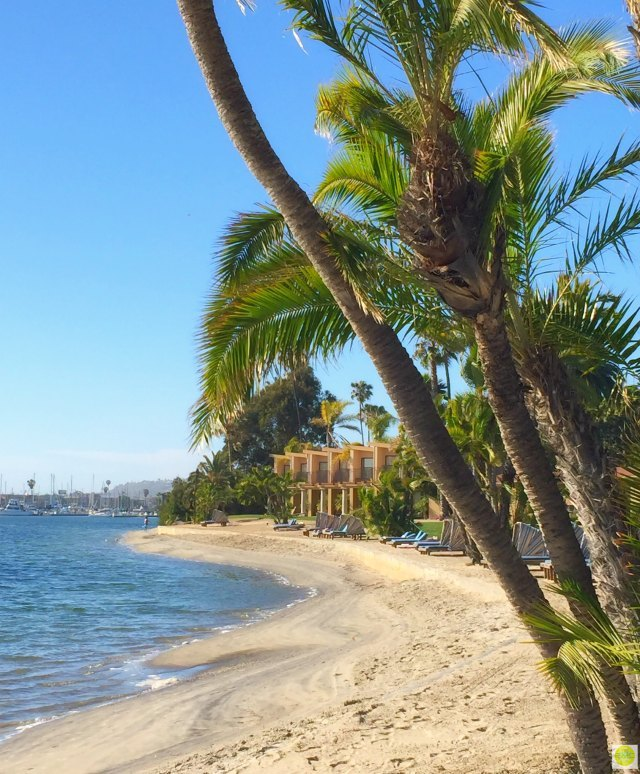 San Diego Getaway on Stylemindchic Life to the Bahia Resort San Diego Beach front suites