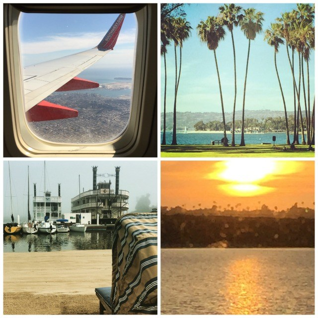 San Diego Getaway and Instagram shots from Stylemindchic Life with beach scenes