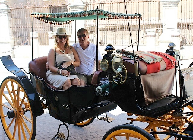Carriage Ride in Seville, Spain