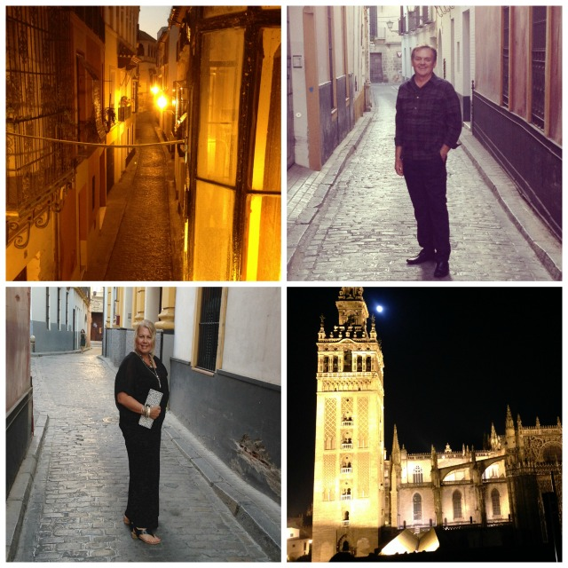 Out on the town in Sevilla, Spain