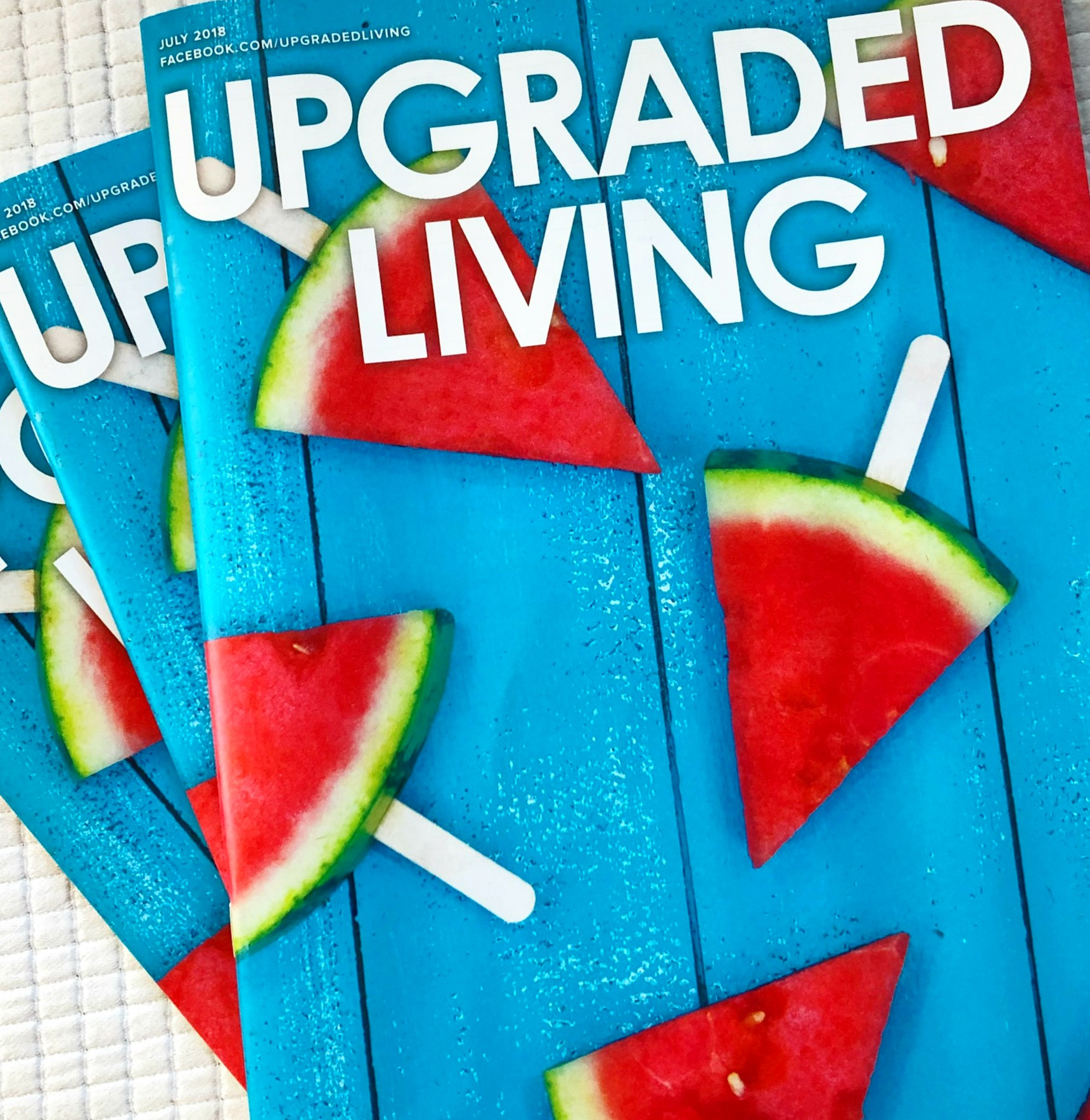 Curated Travel in Upgraded Living Magazine! -
