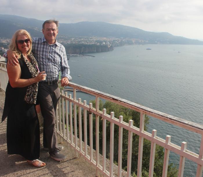 Scott and Heather arriving in Amalfi Coast.jpg