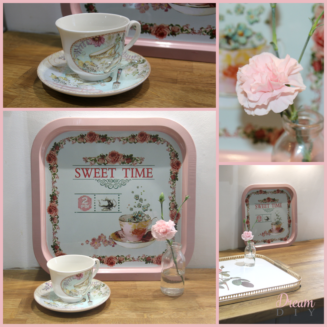 Sweet Time Tray £5.00 Cup and saucer £7.00