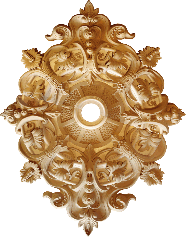 Renaissance Revival Rosette