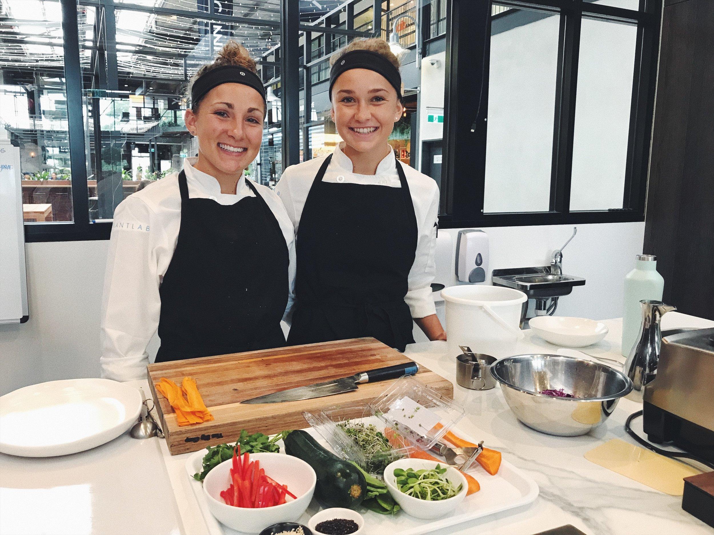 Instructing Level 1 at PlantLab Culinary in Sydney 2018