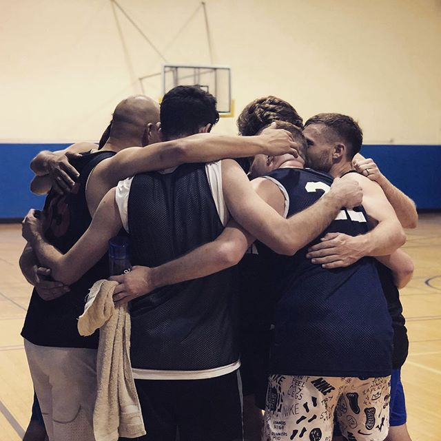 See you in September for the Fall 2019 @sfgba league season! #sportsmanship #teammates #gaybasketball #castrodistrict #sanfrancisco #ballers #huddle #sfgba #🏀 @notkimroberts 📸