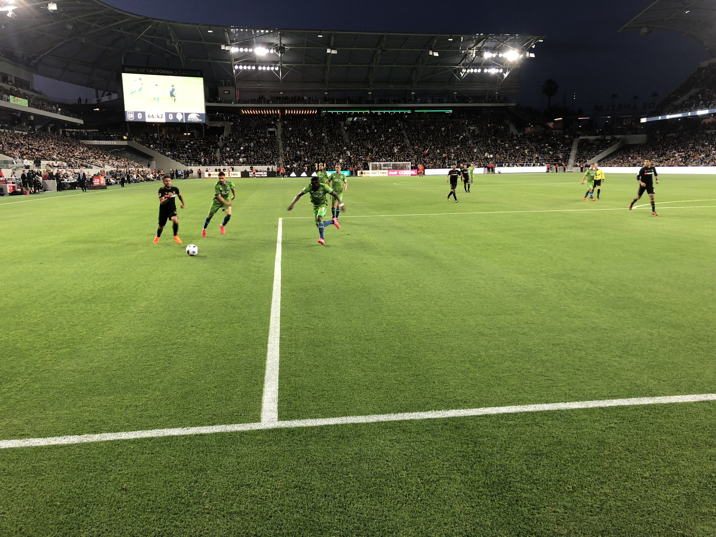 LAFC's home opener vs Seattle Sounders