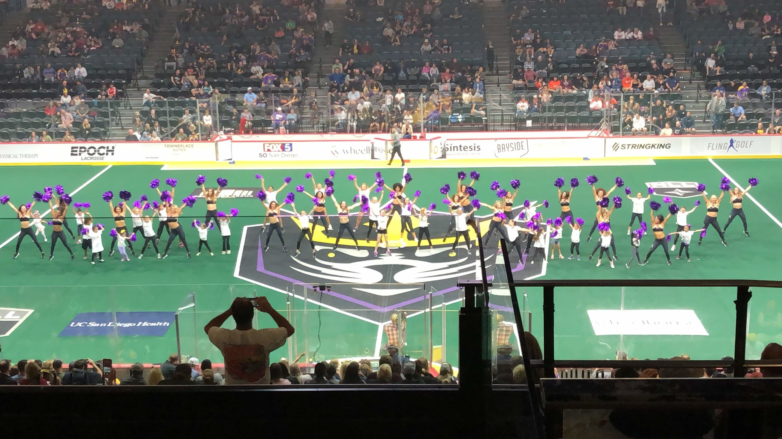 The Siren Dance Team hosted a Junior Sirens dance clinic and even hosted a Halftime performance with the youngsters during Halftime of the April 27th home game against Buffalo.