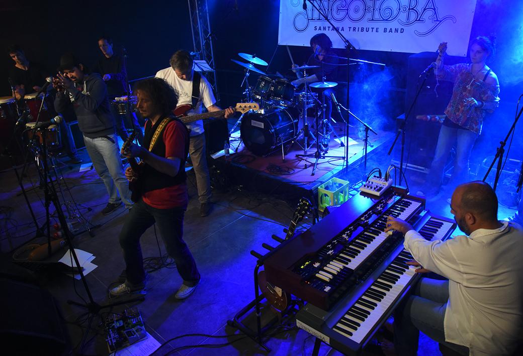 Jingo-Lo-Ba auf dem Sinnflut Festival Erding 2017