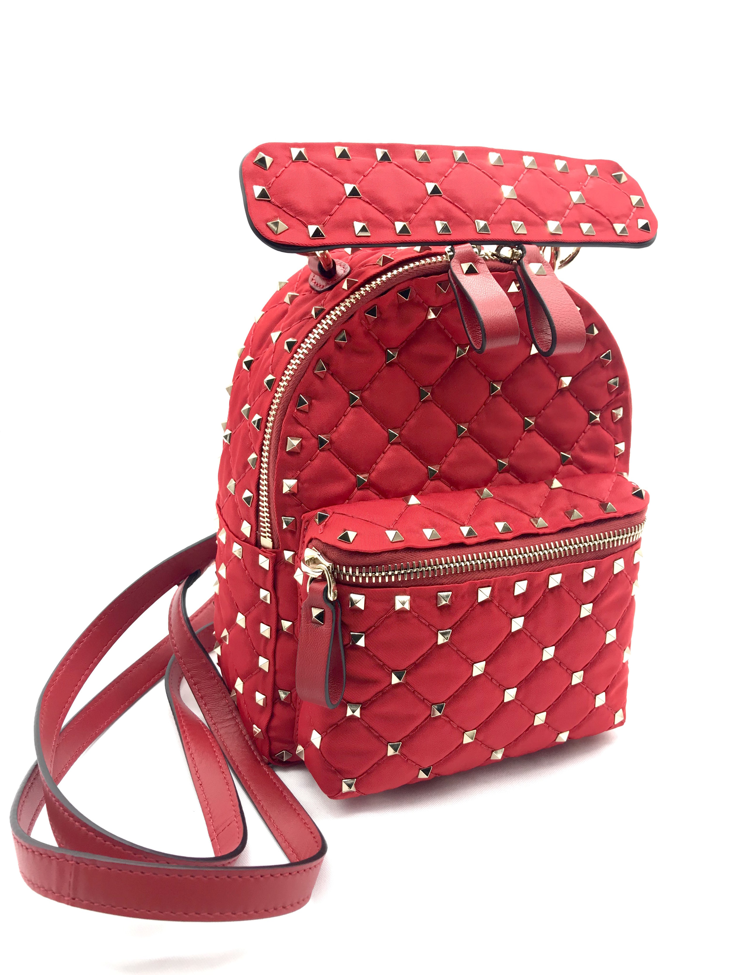 Valentino BackPack Mini Red