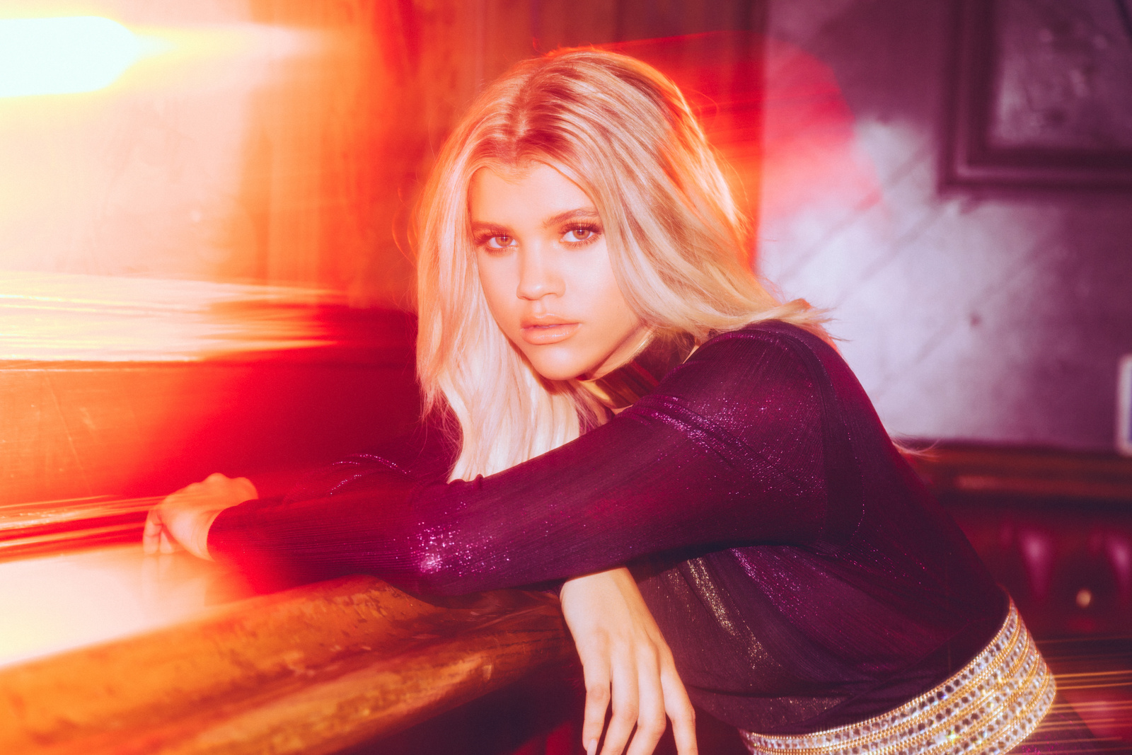 SOFIA RICHIE FOR PRETTY LITTLE THING