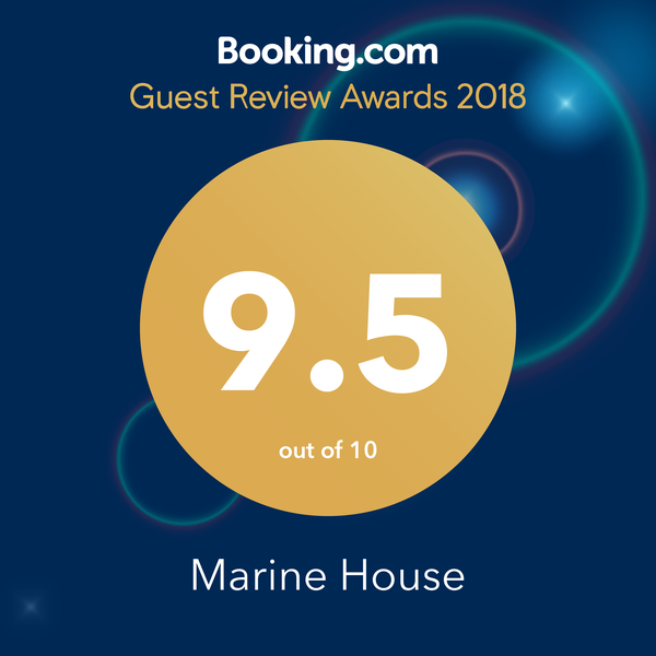 Booking.com customers score us 9.5 out of 10!
