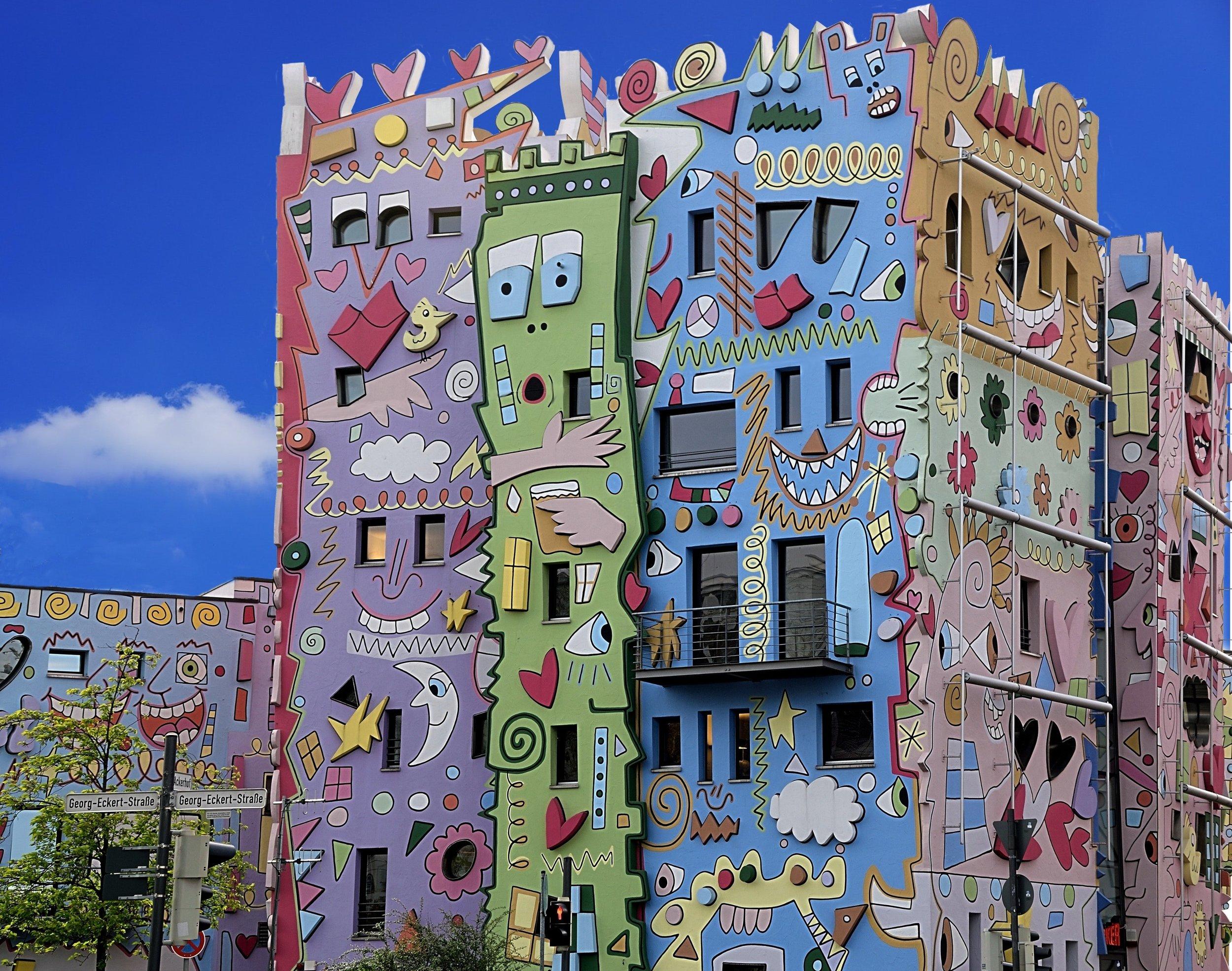 Cartoon architecture