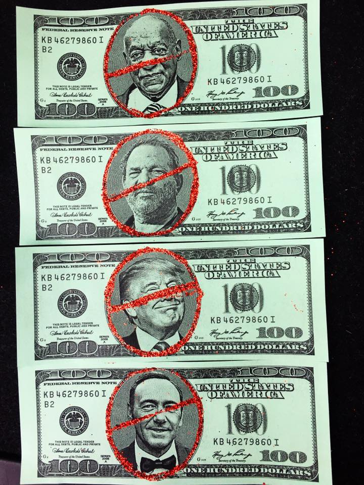 Here are the fronts of our money
