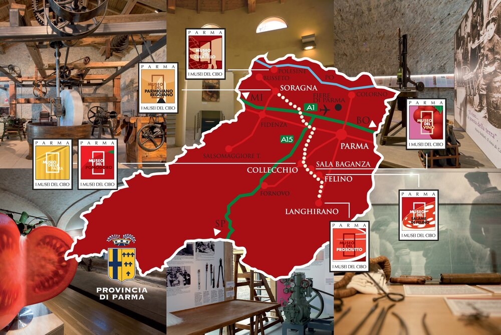 Map of food museums
