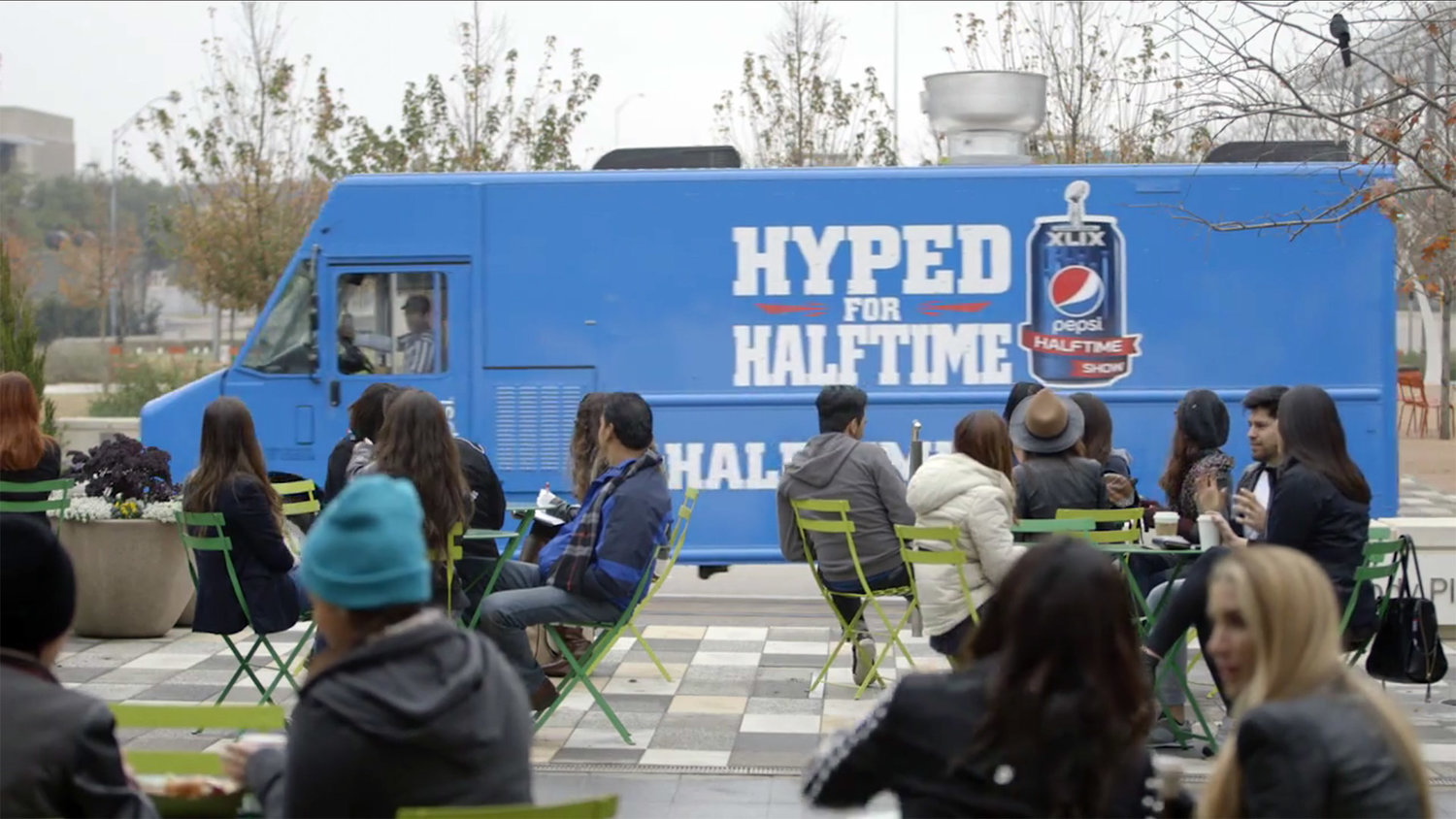 - PEPSI HYPED FOR HALFTIME