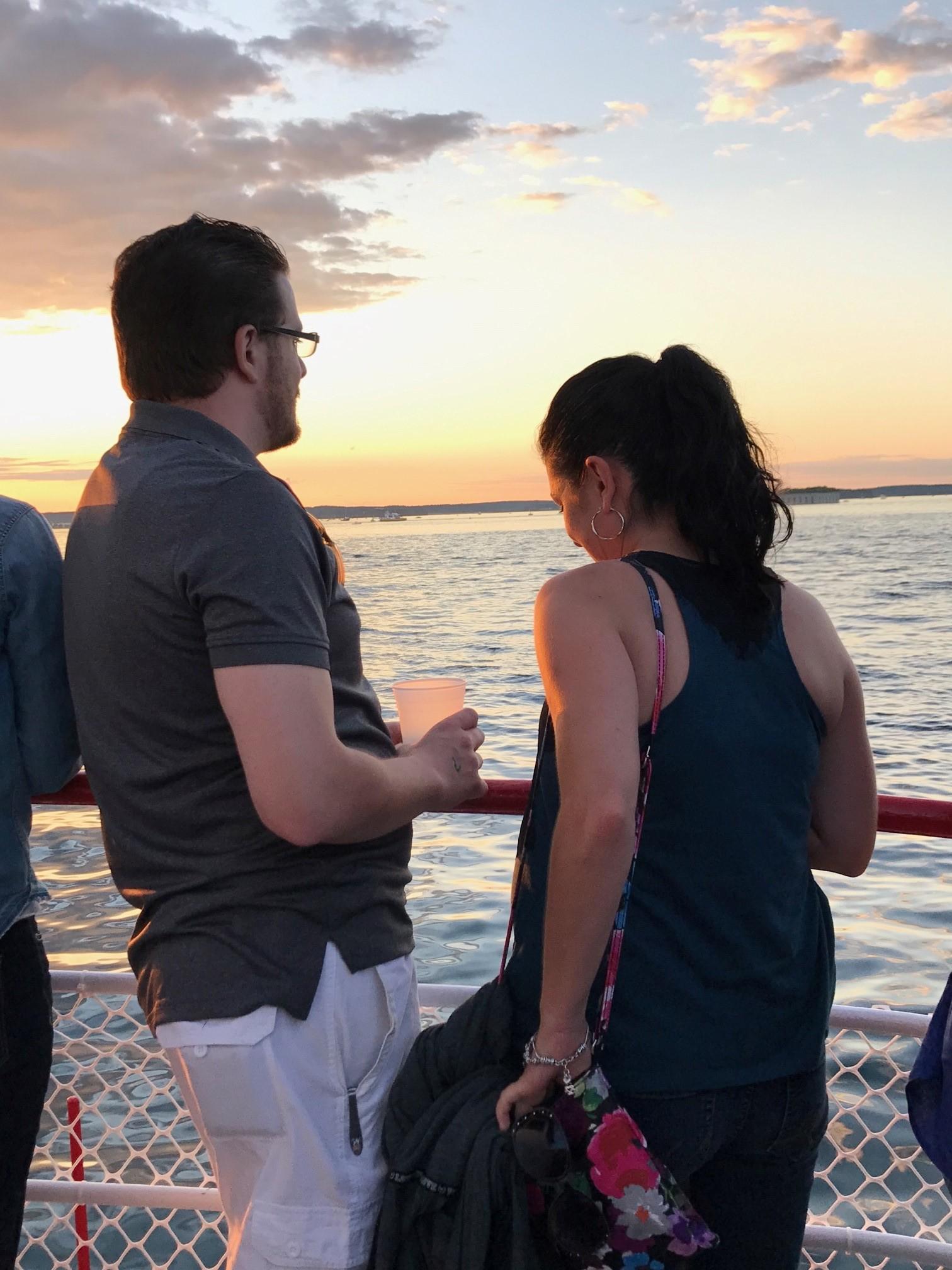 Guests enjoy Sunset - Pam Harvey photo.jpg