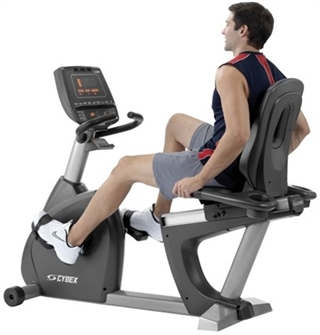 A recumbent exercise bike works for everyone, including people with balance challenges.