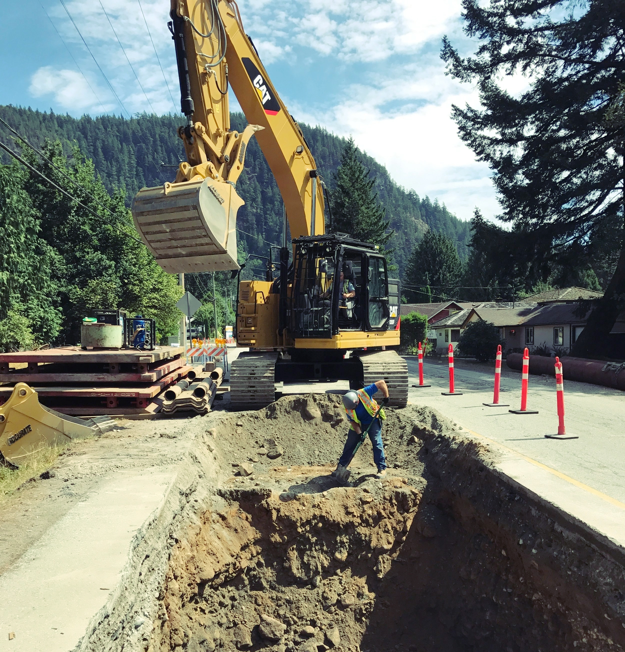 Squamish Water Main Replacement