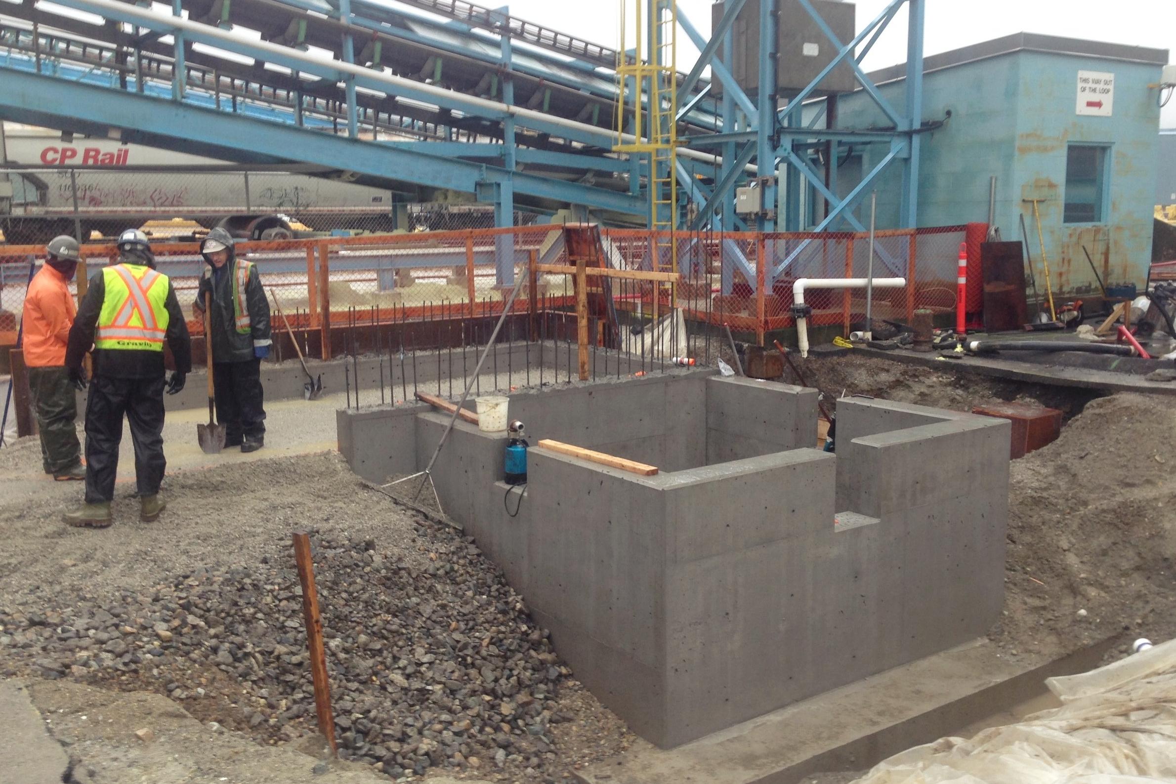 Sultran Project sump pump upgrade - Kinder Morgan