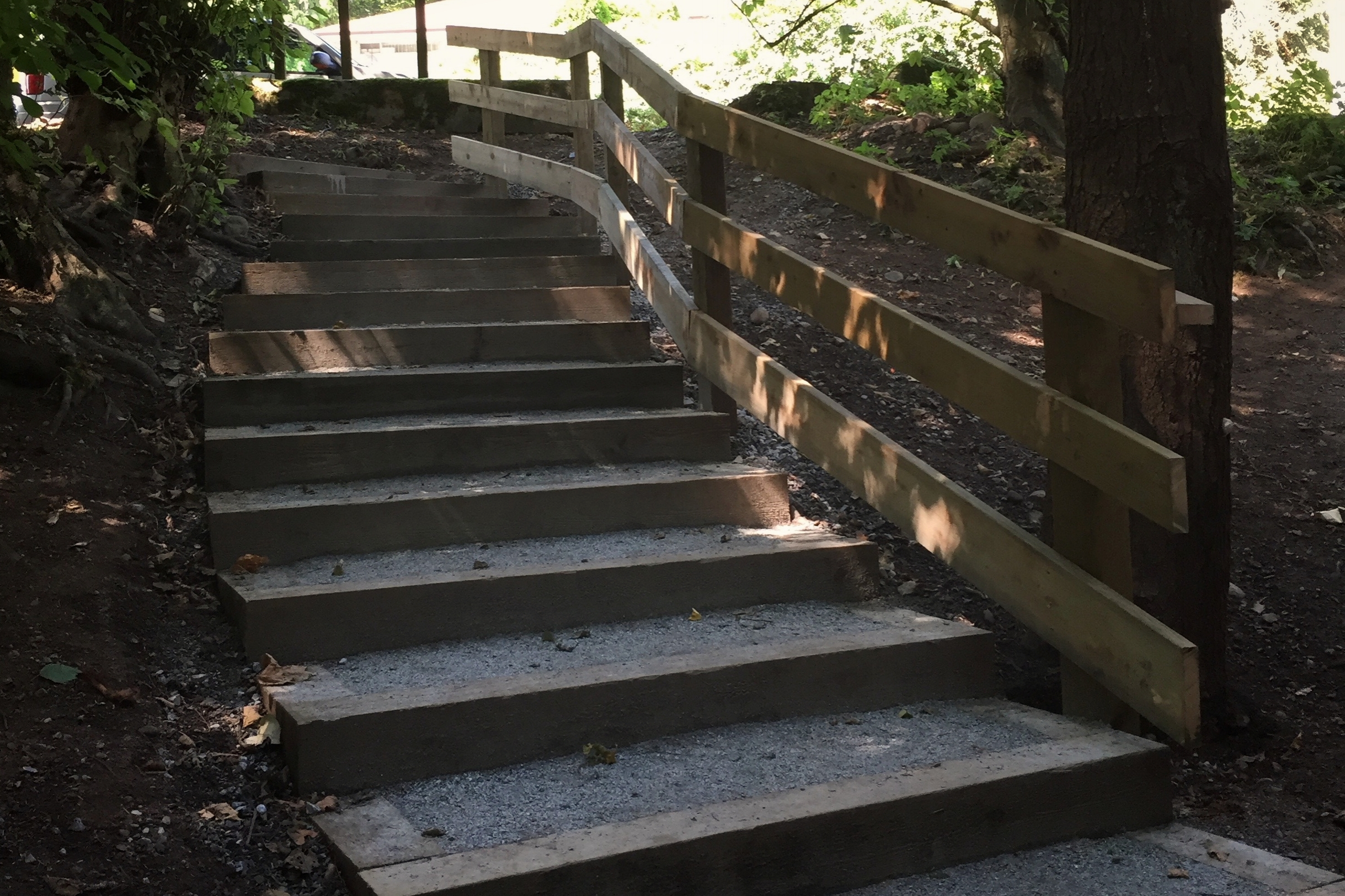 Lynn creek staircase - District of North Vancouver