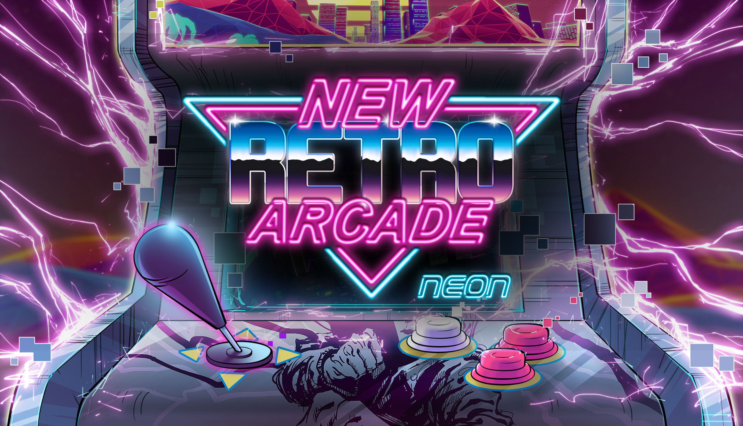 New Retro Arcade: Neon     2D/3D Artist